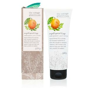 THE COTTAGE GREENHOUSE Apricot & Sage Body Lotion